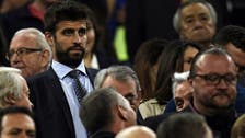 Barca's Pique fined for abusing police over parking ticket
