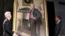 Artist: Bill Clinton portrait includes shadow of Lewinsky's dress