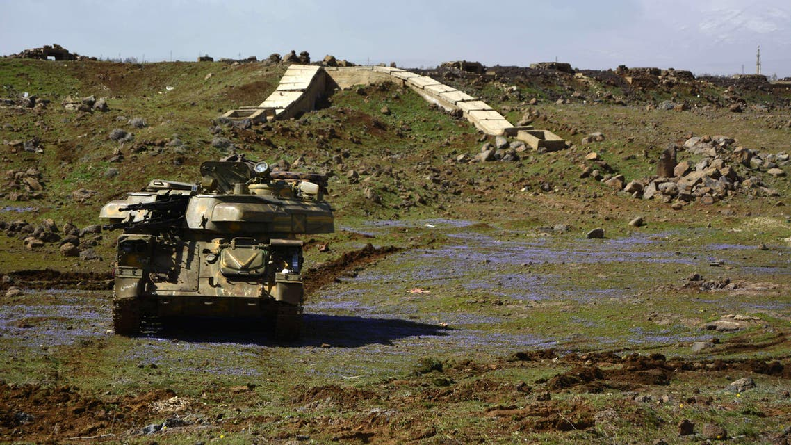 Syrian government tank (AFP)
