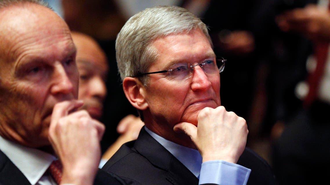 Apple CEO Tim Cook Reuters