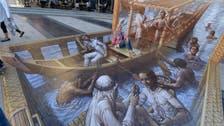 Depth-defying art! 3D pavement paintings wow Dubai