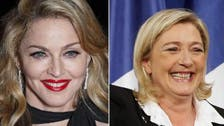 France's Le Pen accepts Madonna offer for a chat