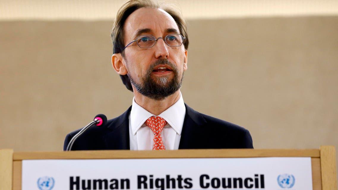 الأمير زيد بن رعد الحسين المفوض السامي لحقوق الإنسان التابع للأمم المتحدة