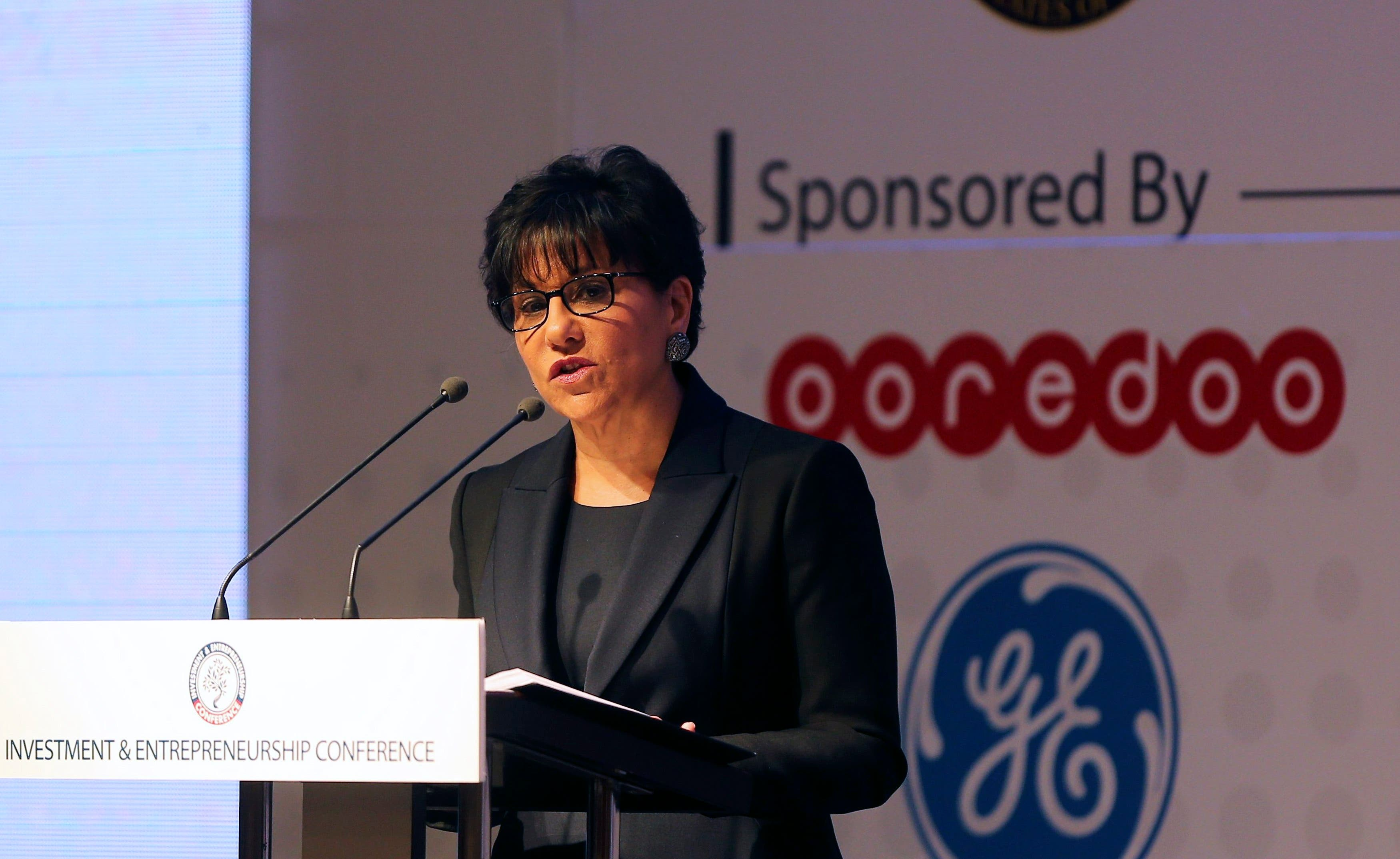 U.S. Secretary of Commerce Penny Pritzker speaks during the Investment and Entrepreneurship Conference in Tunis March 5, 2015. (Reuters)