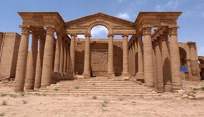نمرود شہر کے تاریخی آثار