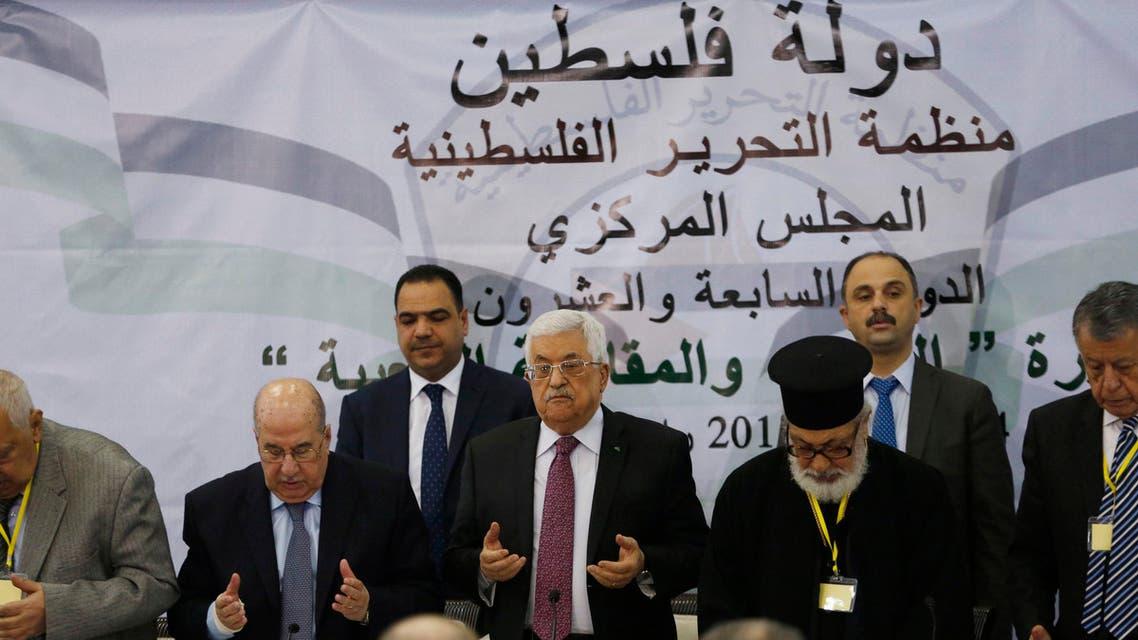 اجتماع المجلس المركز لمنظمة التحرير