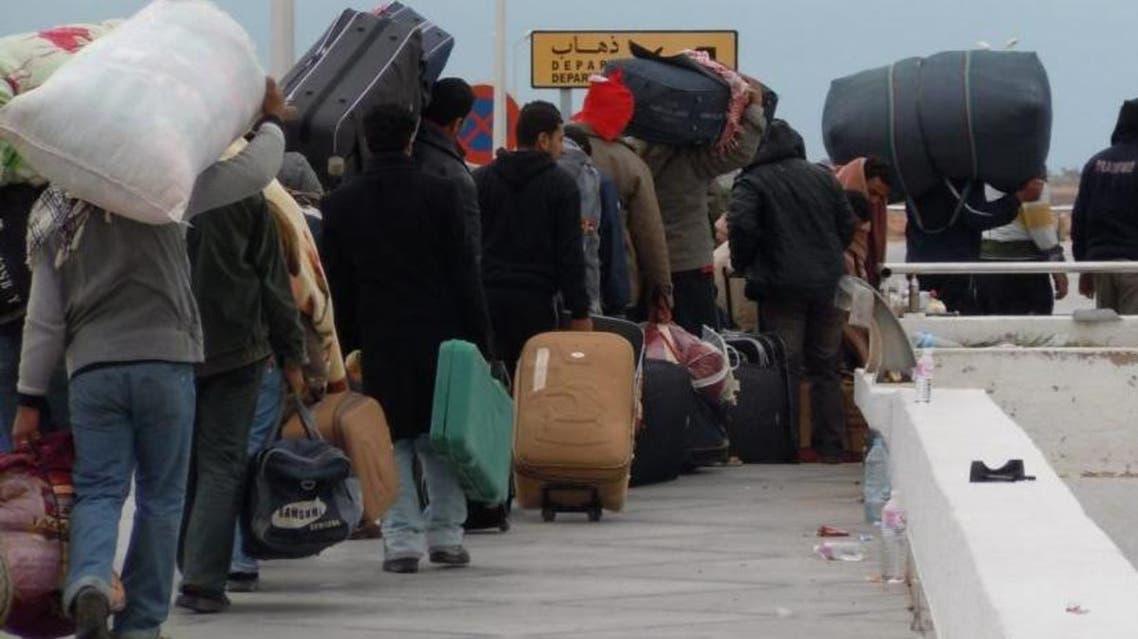 ليبيا تونس حدود