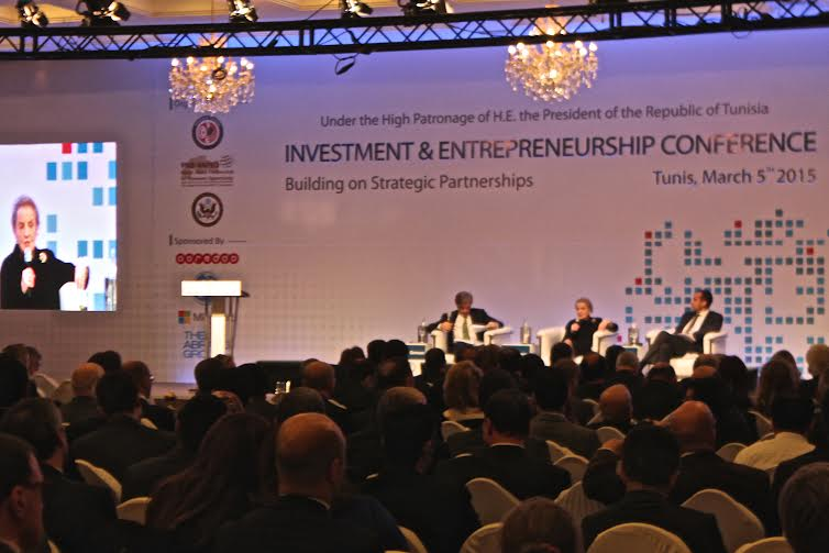 The Investment and Entrepreneurship Conference (IEC) in Tunis.