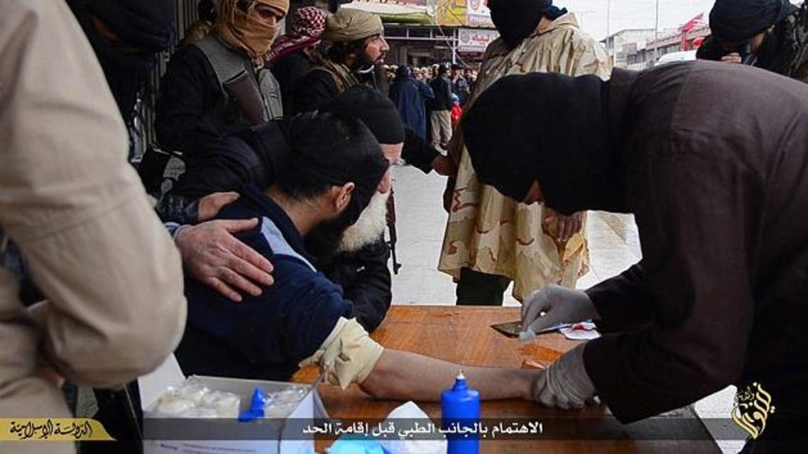 ISIS cut man's hand off for stealing (Daily Mail)
