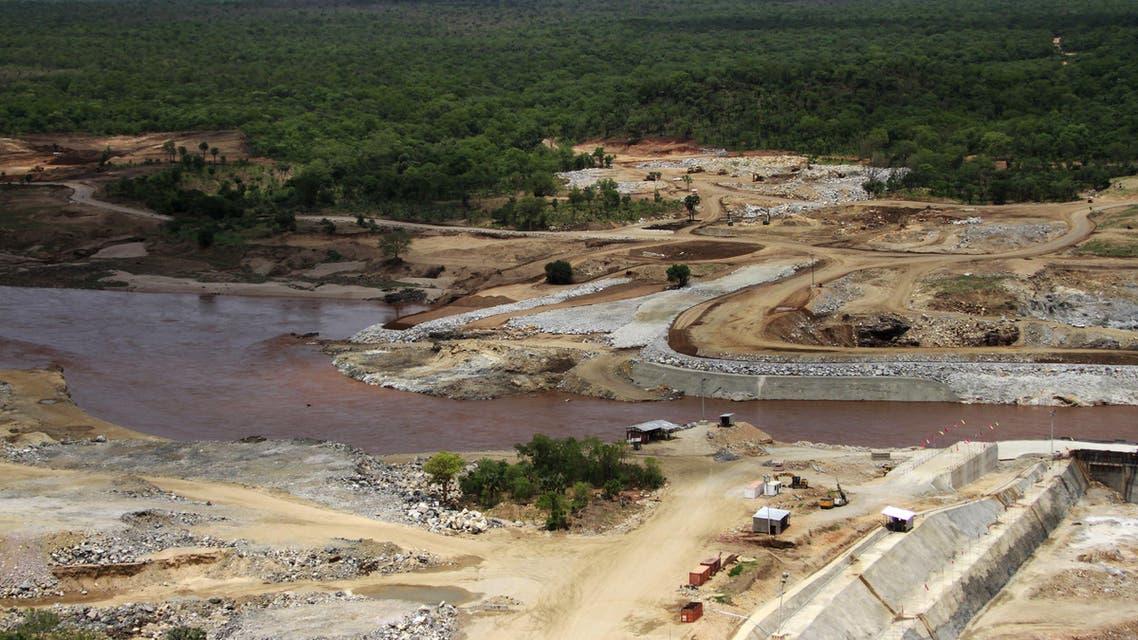 nile water ethiopia dam AP