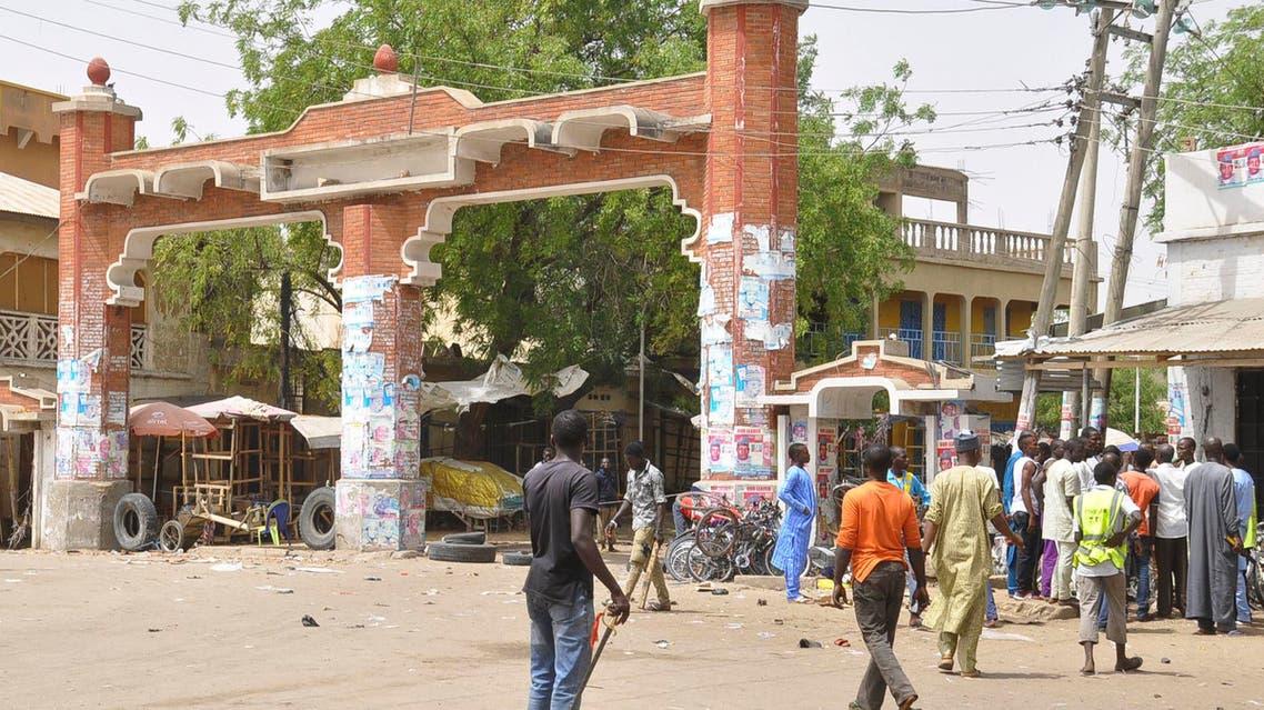 Maiduguri, Nigeria, Saturday, March 7, 2015 AP