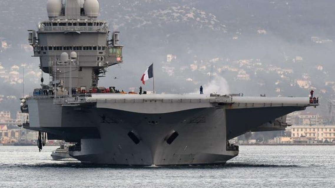General Martin Dempsey was invited by his French counterparts to get a first-hand look at the Charles De Gaulle aircraft carrier, where French warplanes are taking part in the air war against ISIS. AFP