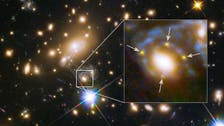 Astronomers find four images of a supernova, in a first