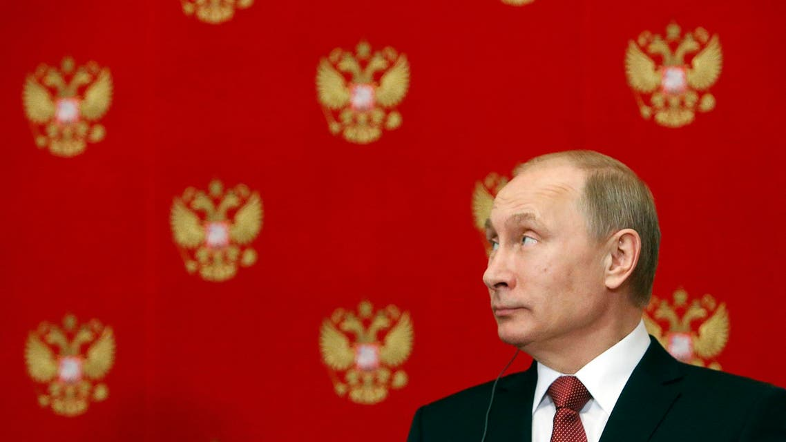 Russian President Vladimir Putin attends a news conference following a meeting with Italian Prime Minister Matteo Renzi at the Kremlin in Moscow, March 5, 2015. (File photo: Reuters)
