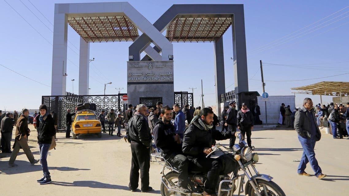 Rafah border crossing Egypt Gaza Israel AFP