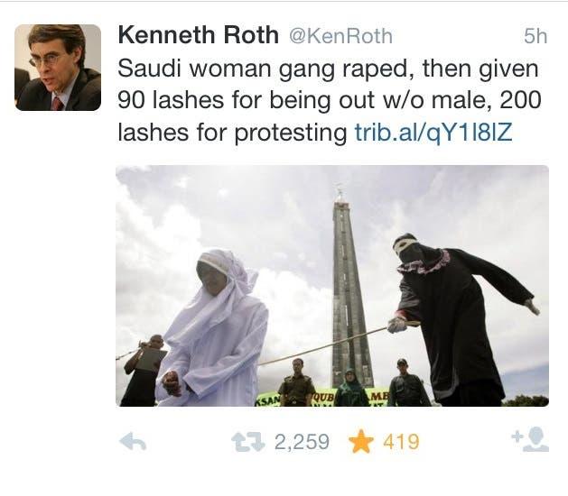 Human Rights Watch Kenneth Roth AP