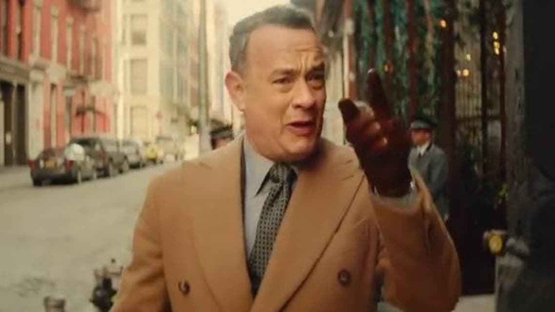 Tom Hanks 'I Really Like You' music video Screengrab