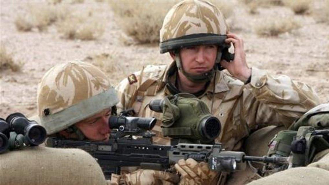 UK troops -