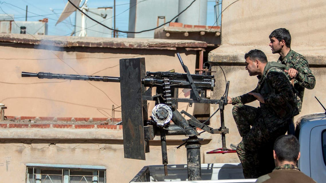 Kurds Reuters Hasaka YPG fighters