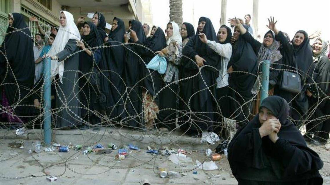 النساء الأرامل في العراق