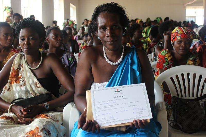 (Photo courtesy: Women for Women International)