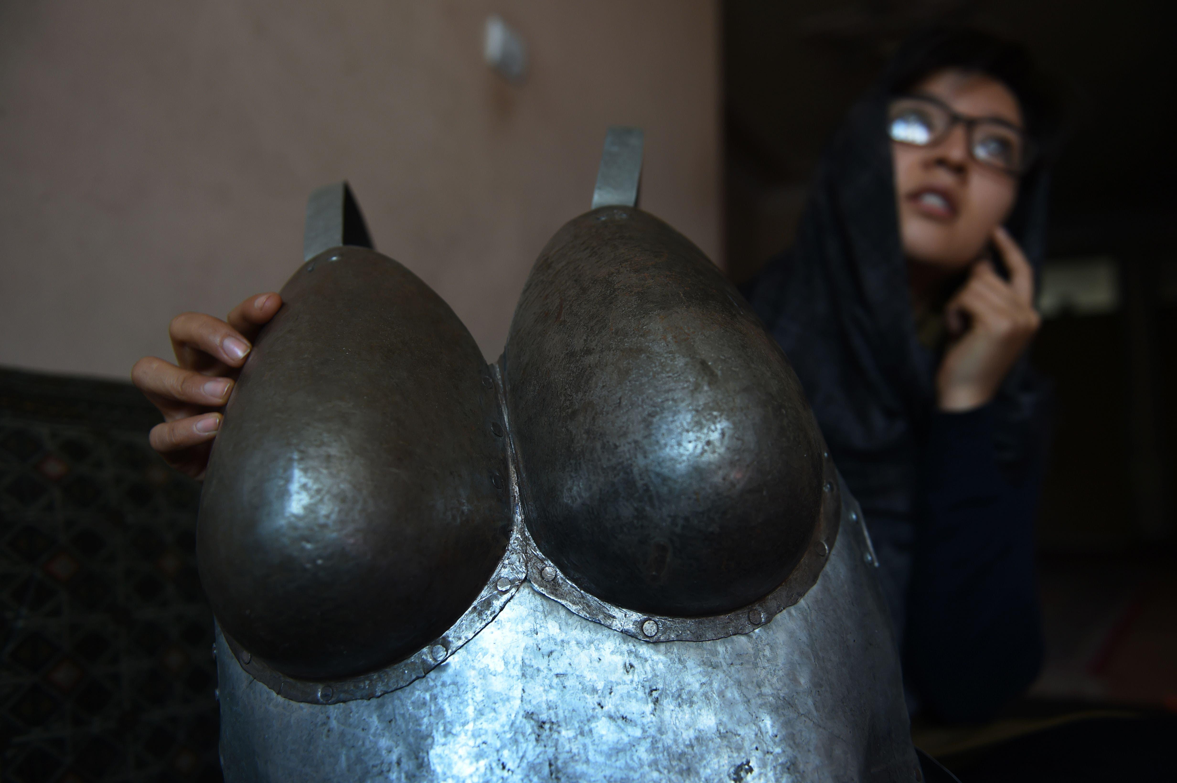 breast armor
