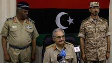 رسمياً.. حفتر قائداً للجيش الليبي بعد أدائه القسم