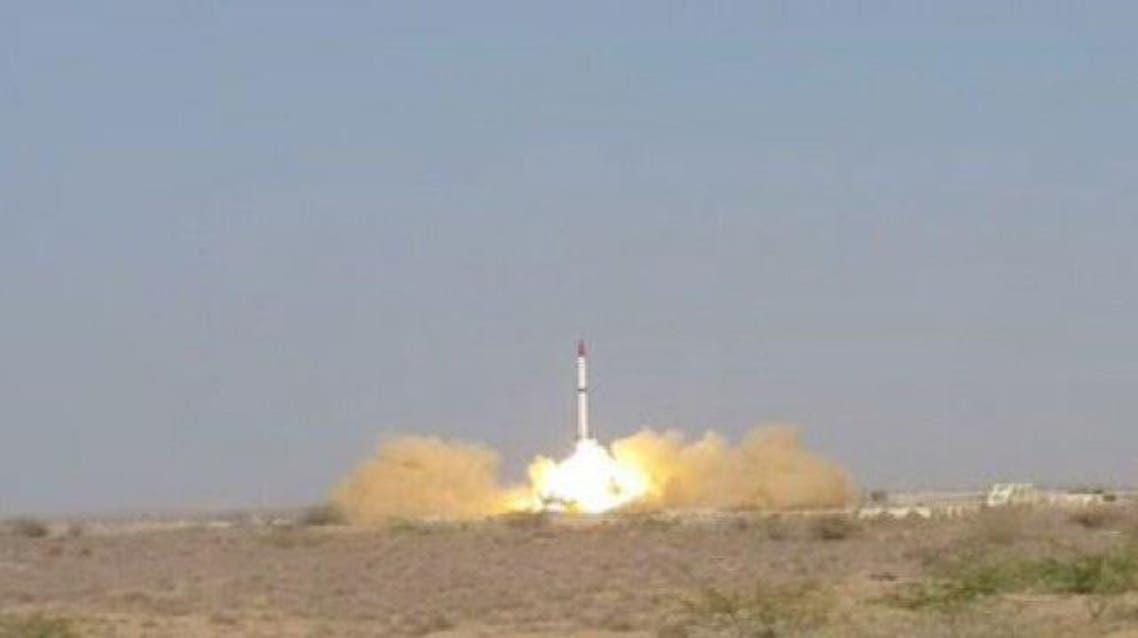 باكستان تجري تجربة ناجحة على صاروخ باليستي قادر على حمل رأس نووي بمدى 2750 كلم
