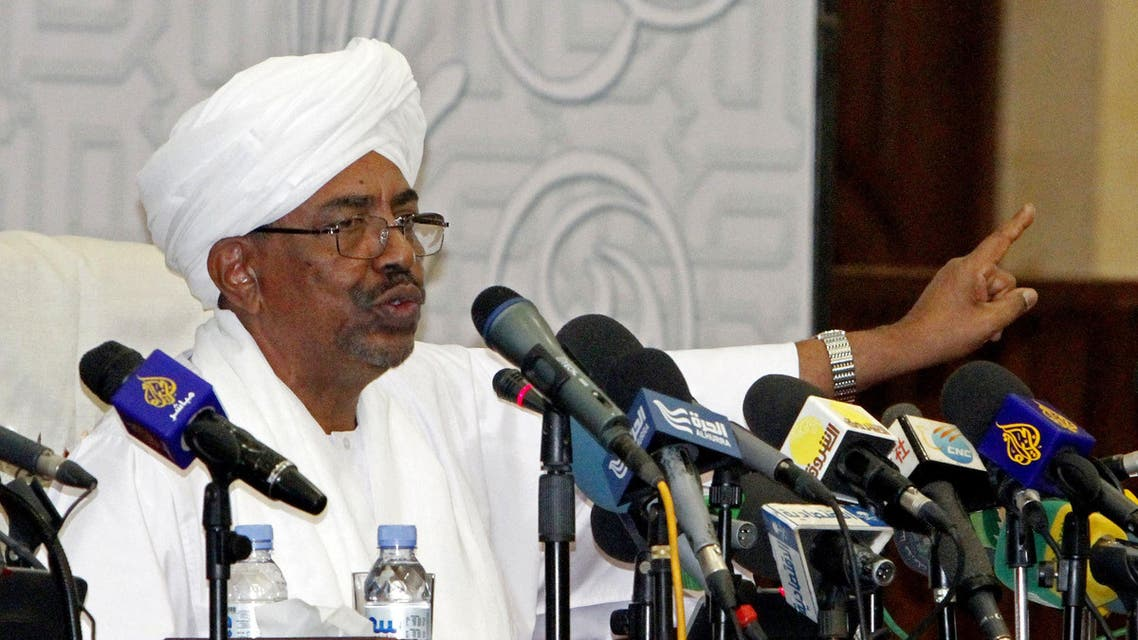 Omar al-Bashir Sudan President AP