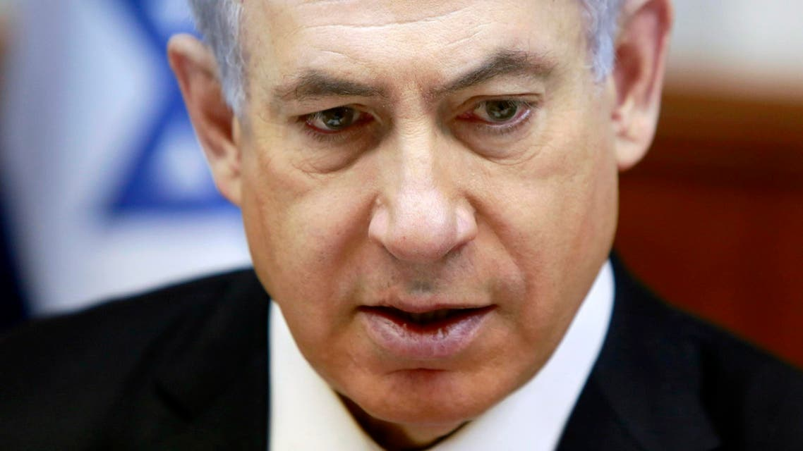 "Netanyahu says sees ""worldwide"" effort to topple him (Reuters)"