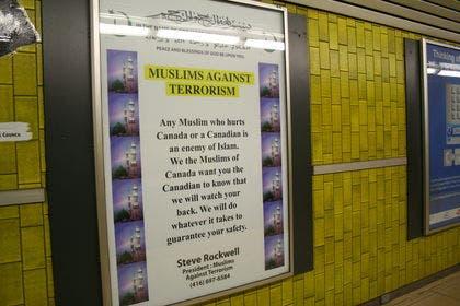 The poster. (Photo courtesy: Toronto Sun)