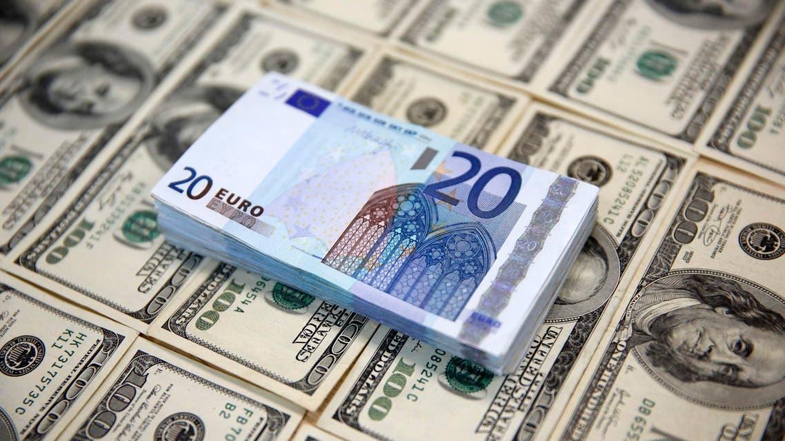 الدولار اليورو