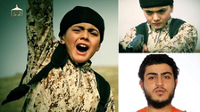 ISIS video shows child killing 'Israeli spy'