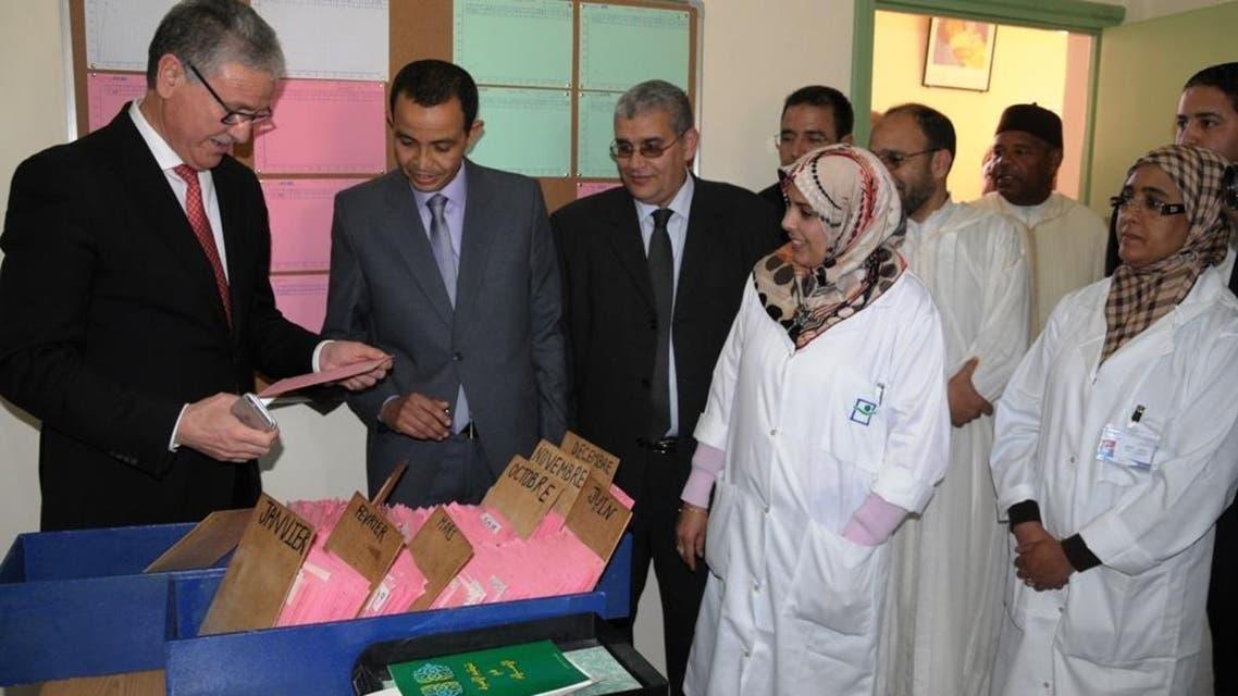 وزير الصحة المغربي في زيارة ميدانية