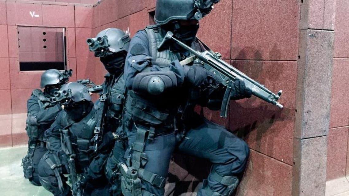 قوات سعودية في مهمة تدريبية