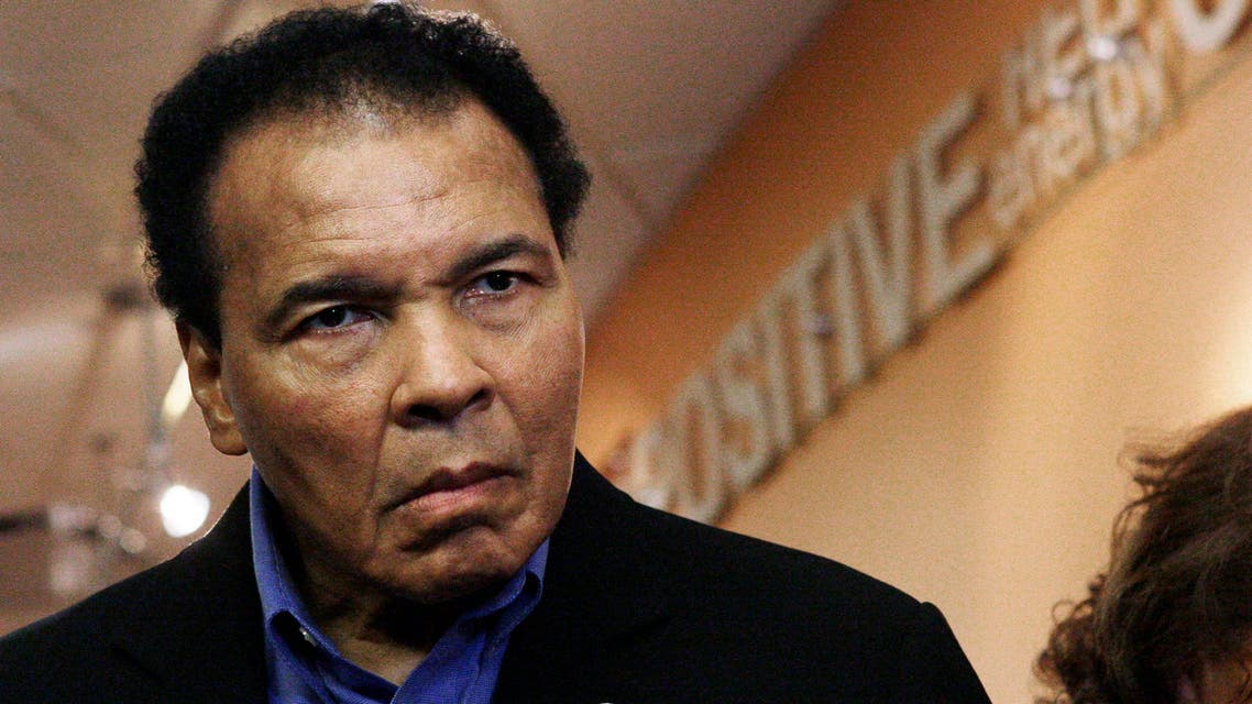 Muhammad Ali backs call for reporter's release from Iran (AP)