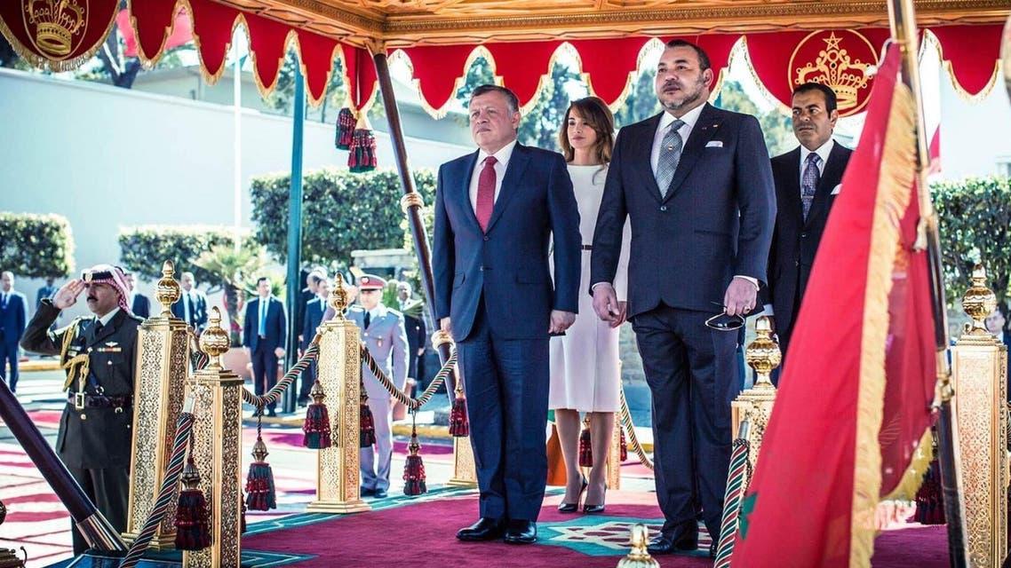 King Abdulllah King Mohammed VI Jordan Morocco (Al Arabiya.net)