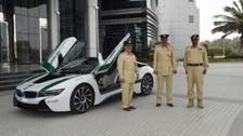 BMW i8 is the latest addition to Dubai police's fleet of supercars