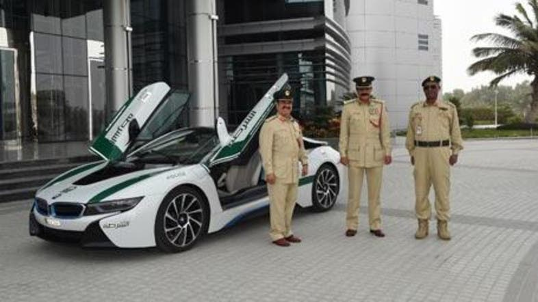 Bmw I8 Is The Latest Addition To Dubai Police S Fleet Of Supercars