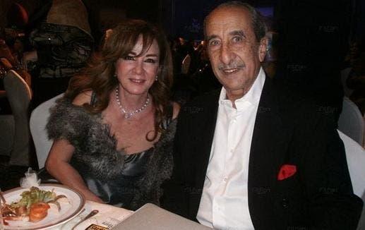 أحدث صورة لنجلاء فتحي مع زوجها الإعلامي حمدي قنديل