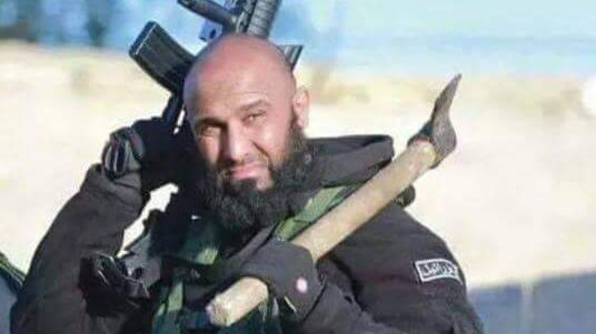 abu azrael iraqi fighter against isis twitter