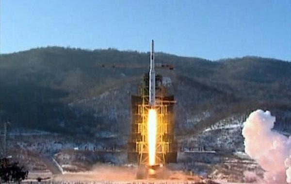 تجربة صاروخية سابقة لكوريا الشمالية