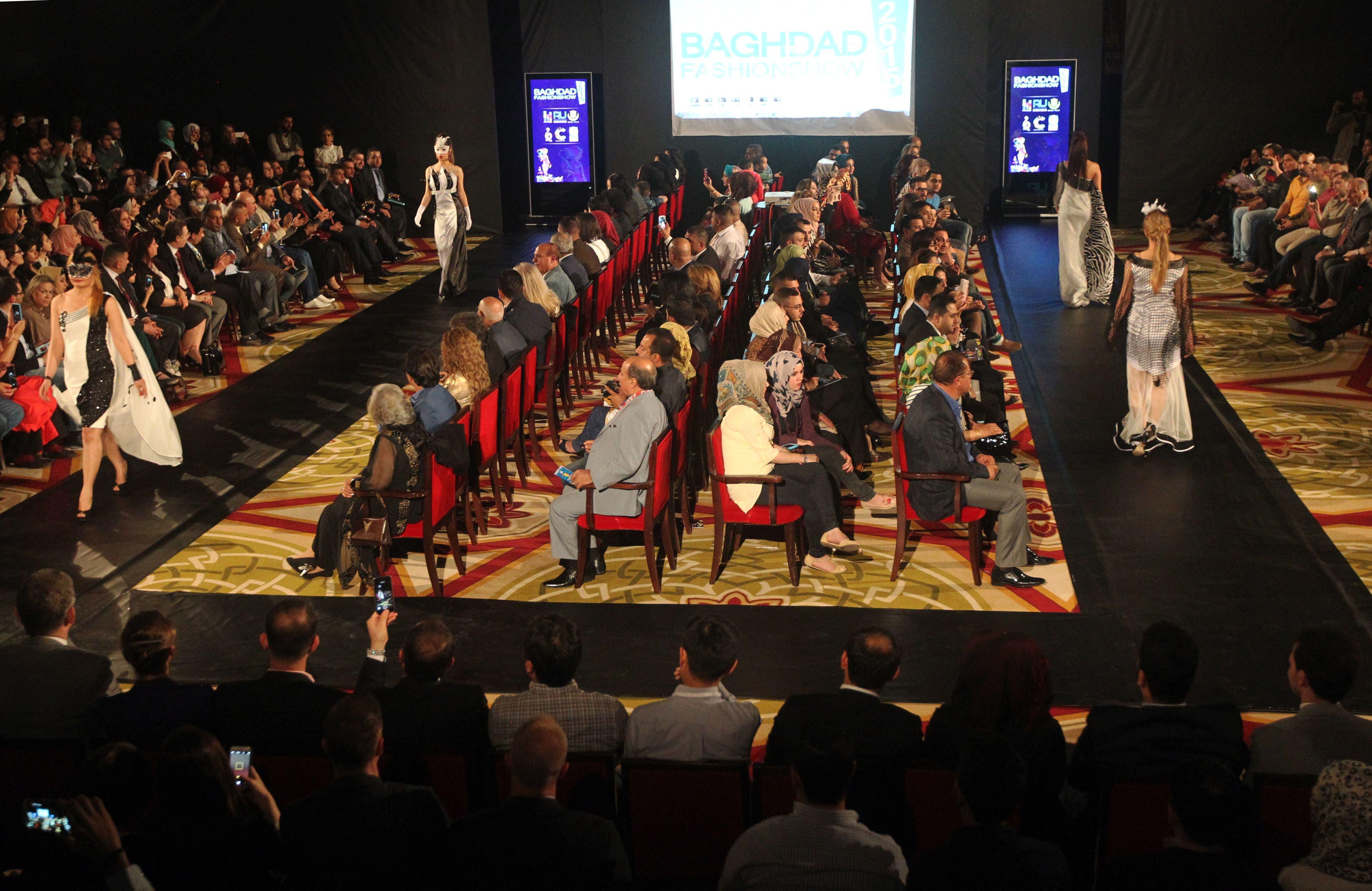 Glamour over gloom: Baghdad hosts fashion show (AFP)