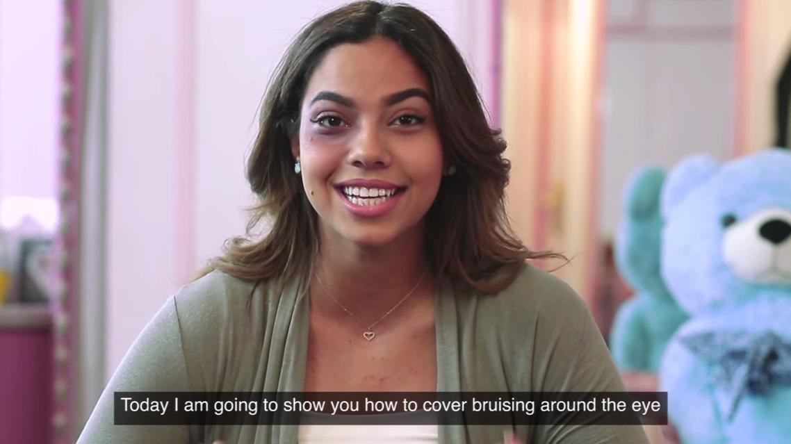UN Women youTube makeup tutorial