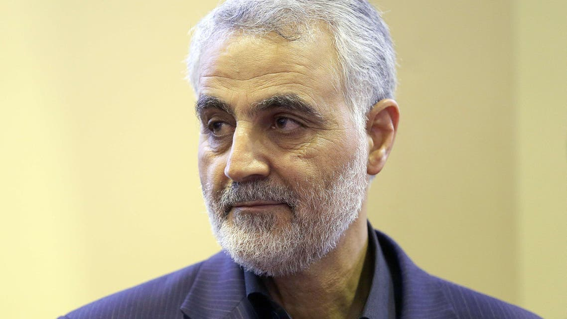 Iran General Qassem Suleimani the commander of the Quds Force AFP