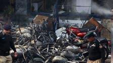 Twin blasts at churches in Pakistan kill 10, wound 55