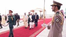 King Salman welcomes Afghan president in Riyadh