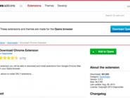 تثبيت إضافات غوغل كروم على مُتصفح أوبيرا