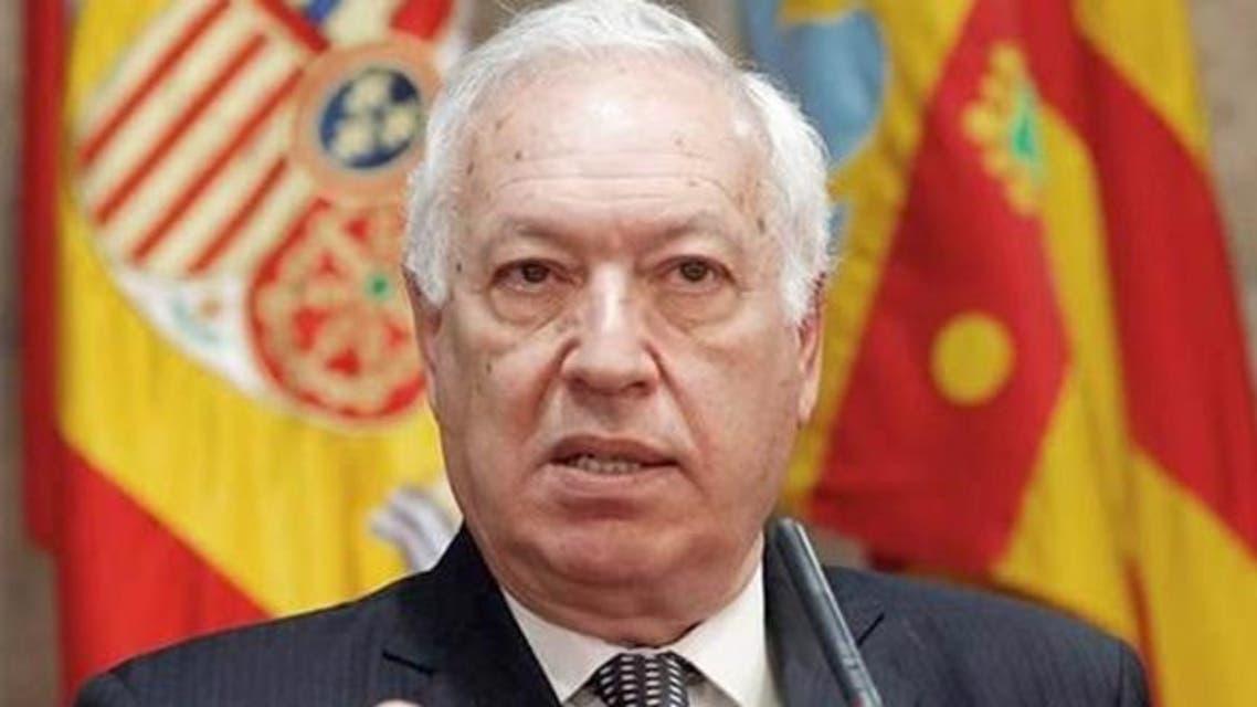 وزير الخارجية الإسباني خوسيه مانويل جارسيا مارجالو