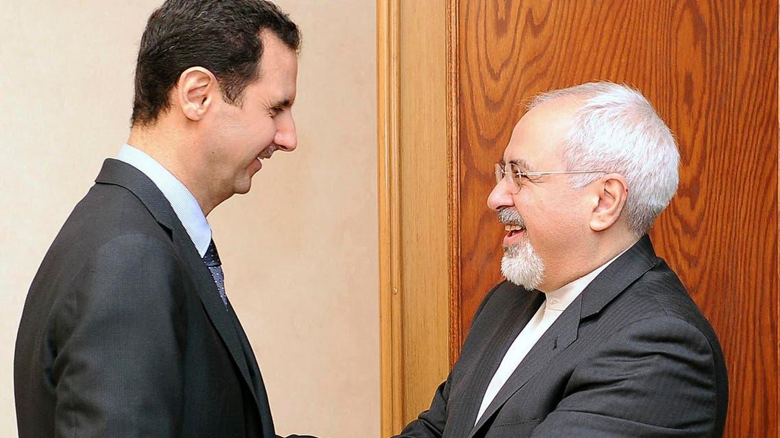 إيران الأسد